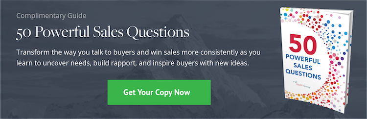 Download: 50 Powerful Sales Questions