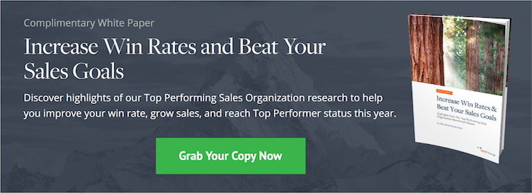 Download Now: Increase Win Rates & Beat Your Sales Goals White Paper