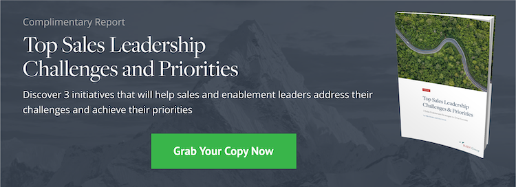 Download Now: Top Sales Leadership Challenges & Priorities