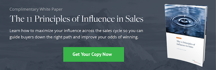 Download: The 11 Principles of Influence in Sales White Paper