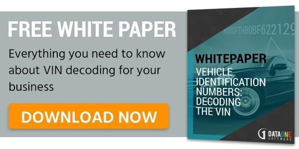 VIN decoder white paper