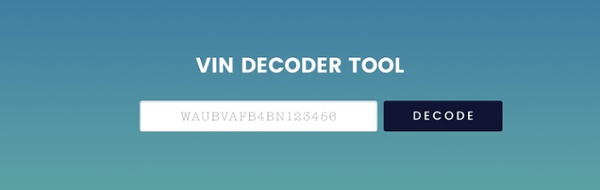 Free-VIN-Decoder-Tool