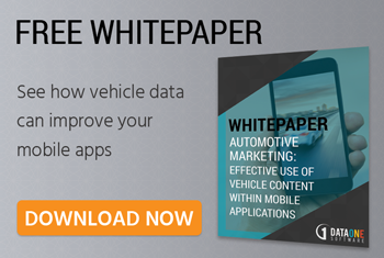 dataone software vehicle data for mobile applications white paper