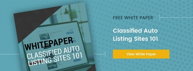 Classified Auto Listing Sites White Paper