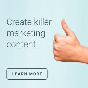 create killer marketing content