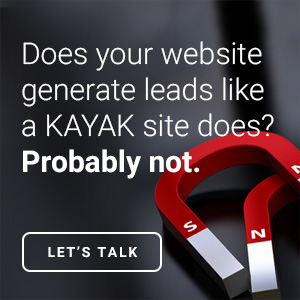 does your website generate leads
