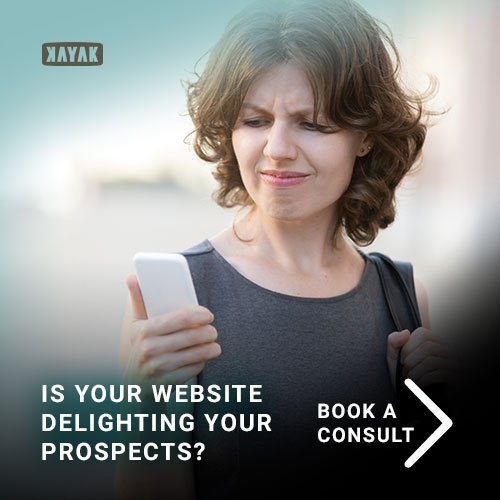 is your website design delighting your prospects? it should be.
