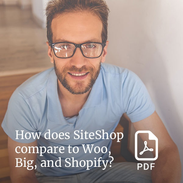 How does SiteShop online store compare to Shopify?