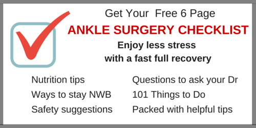Ankle Surgery Checklist