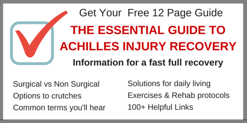 Achilles Recovery Guide