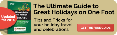 Free Holiday Guide for those on crutches