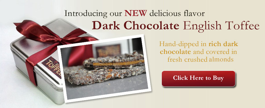 Buy Dark Chocolate English Toffee