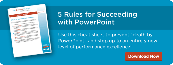 5 Rules for Success with PowerPoint