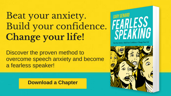 Fearless Speaking by Gary Genard