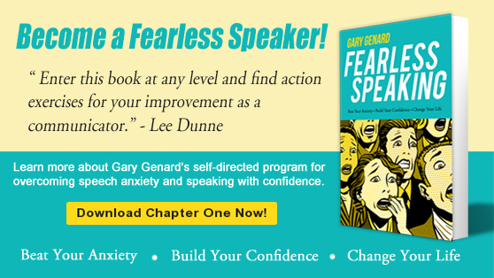 Conquer stage fright with Fearless Speaking