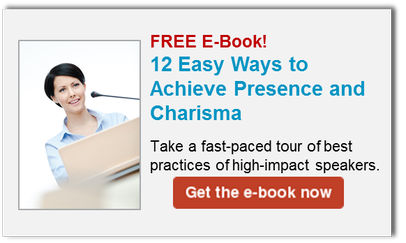 12 Ways to achieve charisma as a speaker
