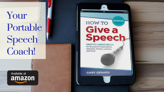 Dr. Gary Genard's 2d expanded edition of the classic public speaking handbook, How to Give a Speech.