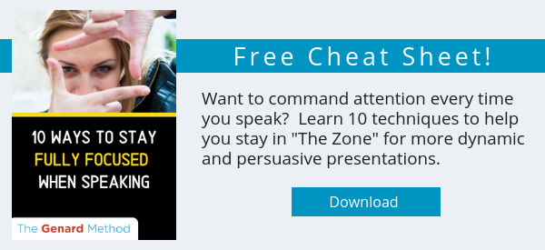 Public Speaking Skills - 10 Ways to Stay Focused