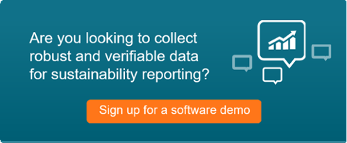 sustainability reporting software demo