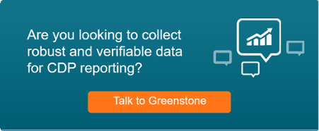 CDP reporting with Greenstone
