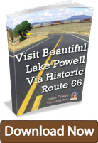 Visit Lake Powell Via Route 66