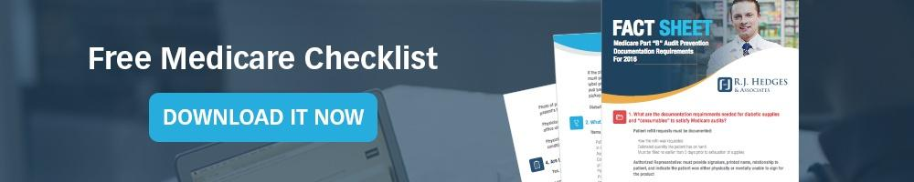 Free Pharmacy Medicare Checklist