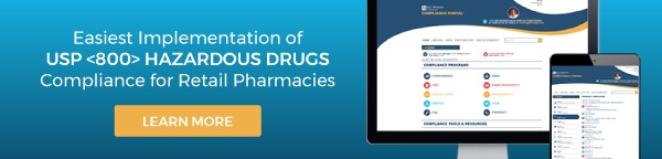 USP <800> Hazardous Drugs Compliance for Retail Pharmacies