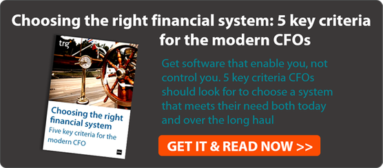 Choosing the right financial system: 5 key criteria for modern CFOs