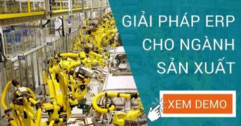 Giải pháp ERP cho ngành sản xuất