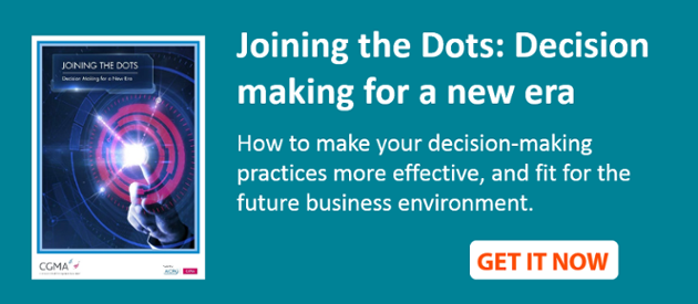 Joining the dots: Decision making for a new era