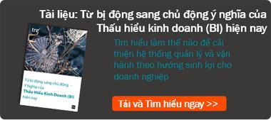 Tu bi dong sang chu dong y nghia cua Thau hieu kinh doanh (Business Intelligence) today
