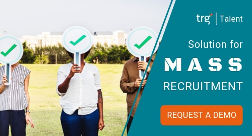 Request demo for mass recruitment