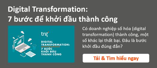 Digital Transformation - 7 bước để khởi đầu thành công