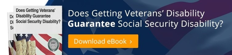 does_veterans_disability_guarantee_docial_security_disability