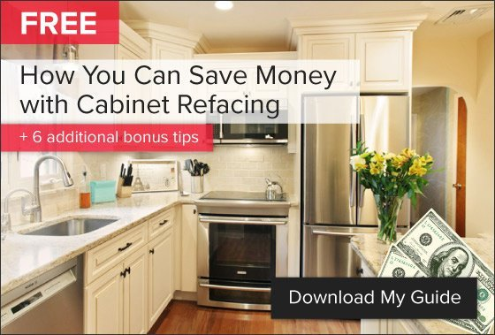 How much does refacing kitchen cabinets cost for Cabinet door refacing cost