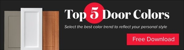 Free download from Kitchen Magic - Our Top 5 Cabinet Door Colors