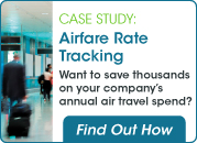 airfare rate tracking case study