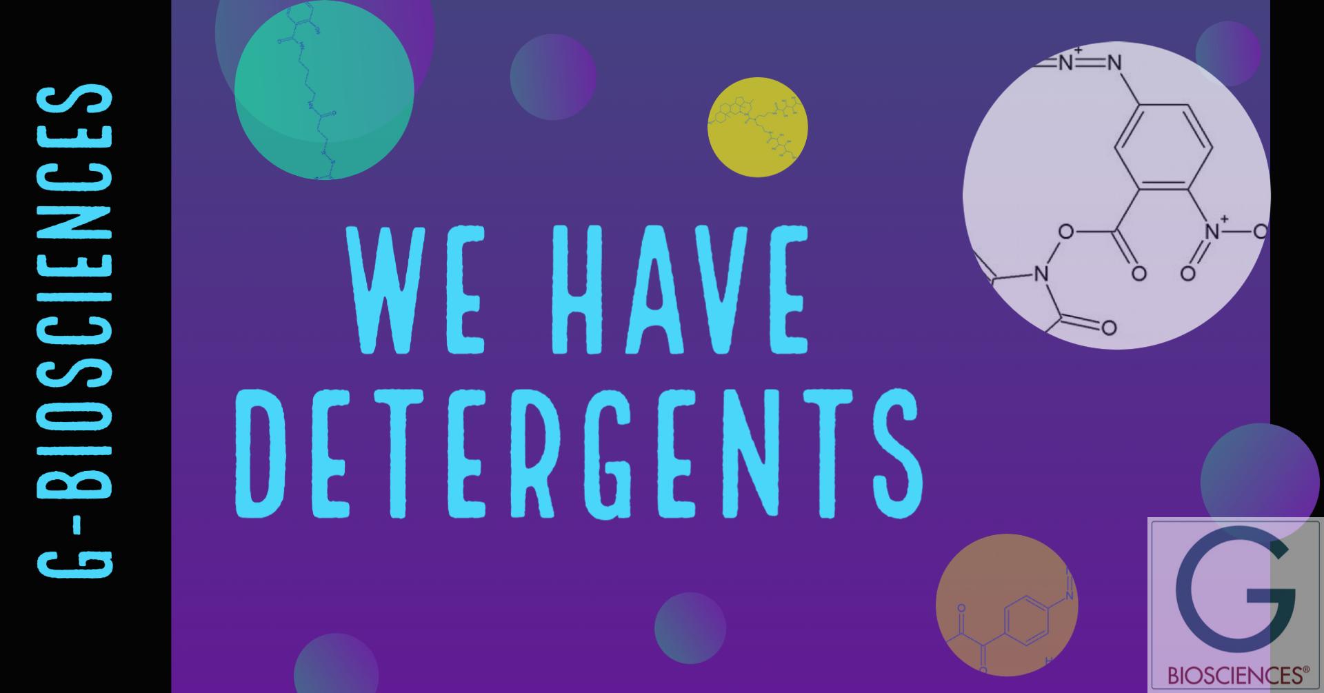 G-Biosciences detergents for lysis