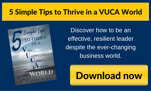 5 simple tips to thrive in a VUCA world