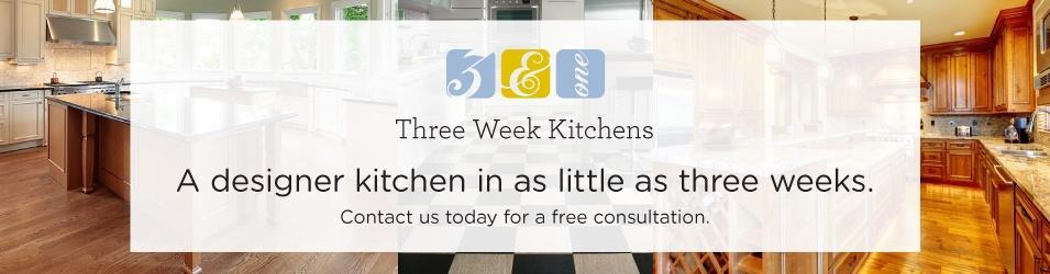 three week kitchens