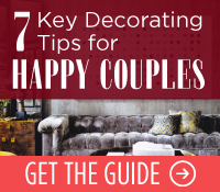 7 Key Decorating Tips for Happy Couples