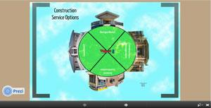 Construction Options on Prezi