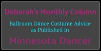 Satin Stitche's Deborah Monthly Column in Minnesota Dancer