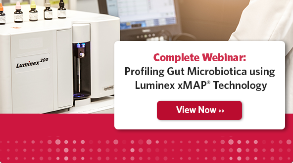 Complete Webinar: Profiling Gut Microbiotica using Luminex xMAP Technology