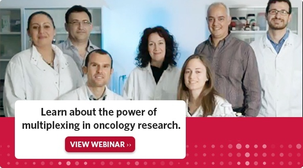 Learn about the power of multiplexing in oncology research. View Webinar.