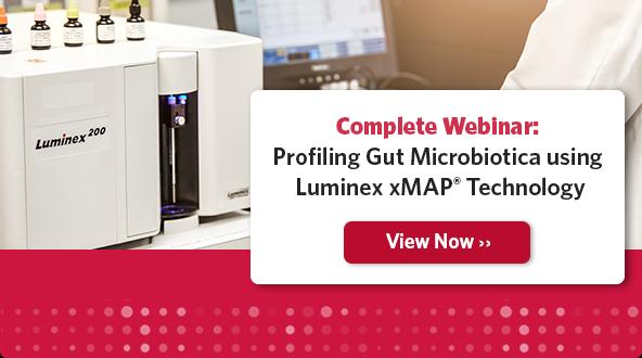 Complete Webinar: Profiling Gut Microbiotica using Luminex xMAP Technology