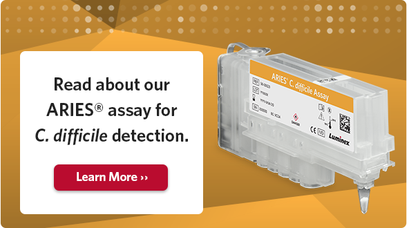 Read about our ARIES® Assay for C. difficile detection