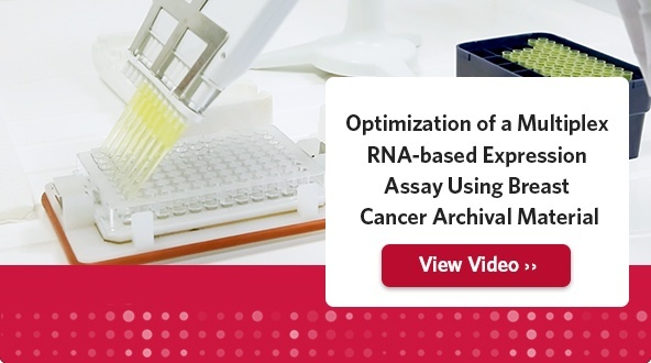Optimization of a Multiplex RNA-based Expression Assay Using Breast Cancer Archival Material