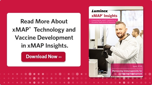 Read More About xMAP Technology and Vaccine Development in xMAP Insights.