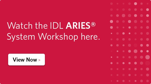 Watch the IDL ARIES System Workshop here.